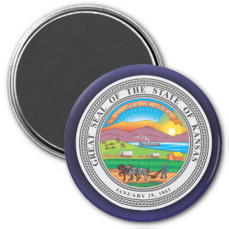 Kansas Seal Magnet