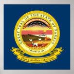 Kansas Seal Print