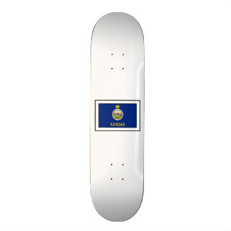 Kansas Skateboard Deck