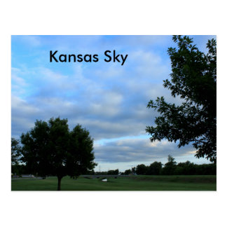Kansas Sky POST CARD