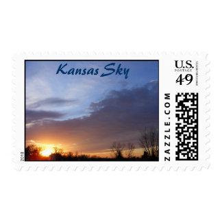Kansas Sky Postage