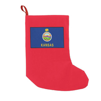 Kansas Small Christmas Stocking