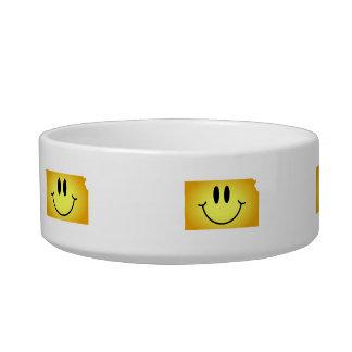 Kansas Smiley Face Bowl