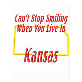 Kansas - Smiling Postcard