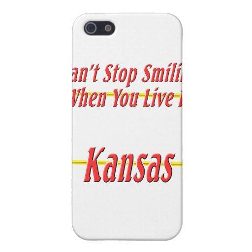 Kansas - sonriendo iPhone 5 coberturas