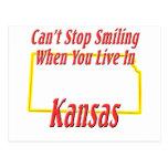 Kansas - sonriendo postal