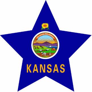 Kansas Star Photo Cutouts