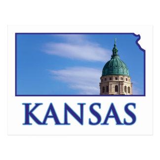 Kansas State Capitol Postcard