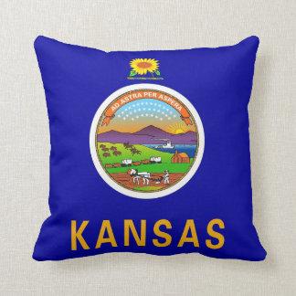 Kansas State Flag American MoJo Pillow