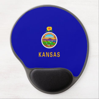 Kansas State Flag Design Gel Mouse Pad