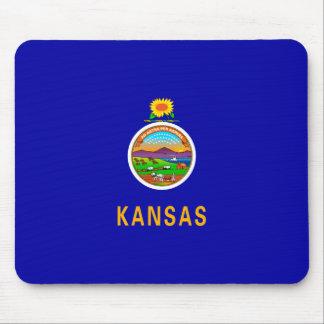 Kansas State Flag Design Mouse Pad