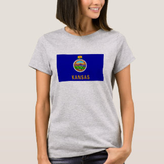 Kansas State Flag Design T-Shirt