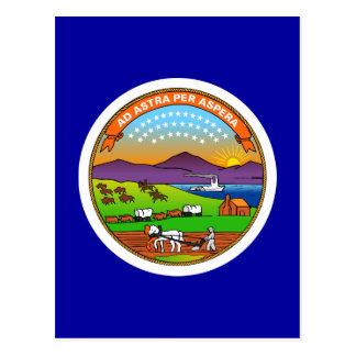 Kansas State Flag Postcard