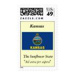 Kansas State Flag Stamps