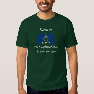Kansas State Flag Tee Shirt