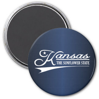 Kansas State of Mine Magnet