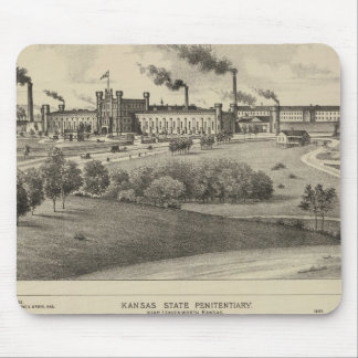 Kansas State Penitentiary Mouse Pad