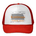 Kansas State Pride Map Mesh Hats