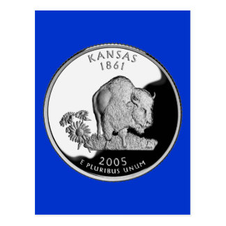 Kansas State Quarter Postcard