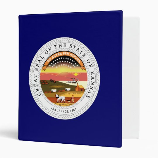 Kansas State Seal Binder