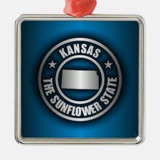 """Kansas Steel (Blue)"" Ornament"