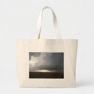 Kansas Storm Canvas Bags