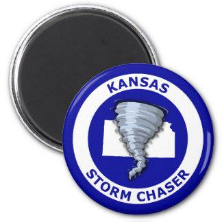 Kansas Storm Chaser Magnet