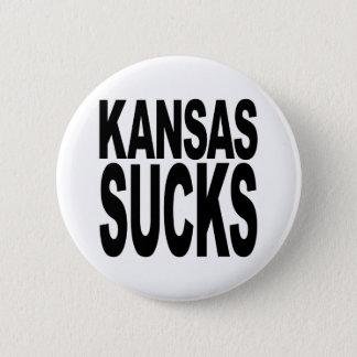 Kansas Sucks Pinback Button