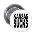 Kansas Sucks Pins