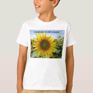 Kansas Sunflower close up T-Shirt