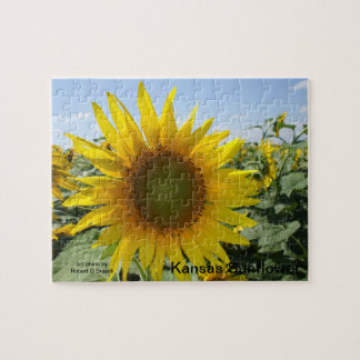 Kansas Sunflower Jigsaw Puzzle