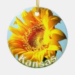 Kansas Sunflower Ornament