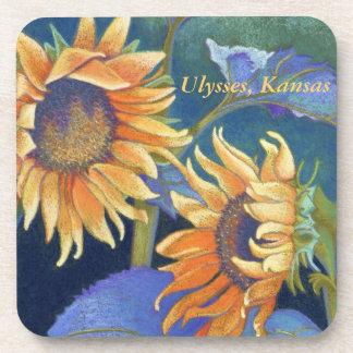 Kansas Sunflowers Coasters