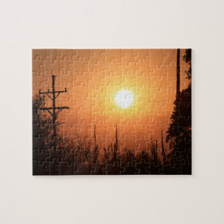 Kansas Sunset Puzzle