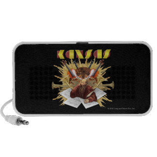 KANSAS - Symphony Logo Mini Speakers