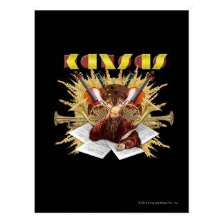 KANSAS - Symphony Logo Post Cards