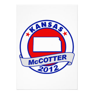 Kansas Thad McCotter Announcement