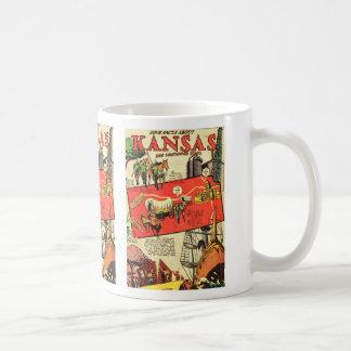 Kansas the Sunflower State Coffee Mug