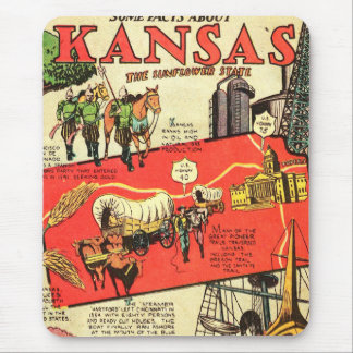 Kansas the Sunflower State Mouse Pad