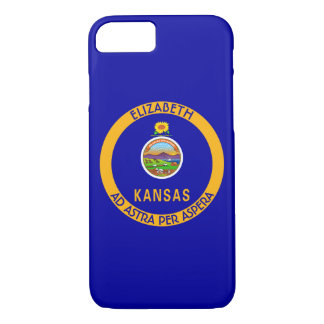 Kansas The Sunflower State Personalized Flag iPhone 7 Case