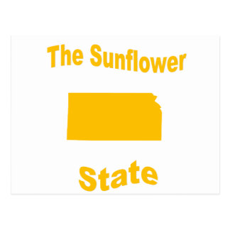 Kansas: The Sunflower State Postcard