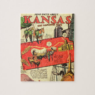 Kansas the Sunflower State Puzzle