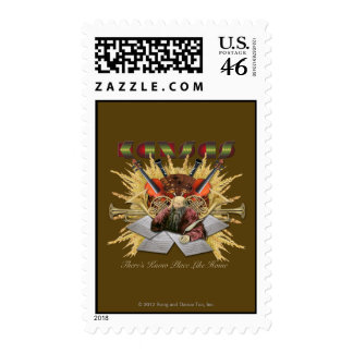 KANSAS - There s Know Place Like Home Postage Stamps