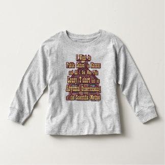 Kansas Toddler Long Sleeve Shirt