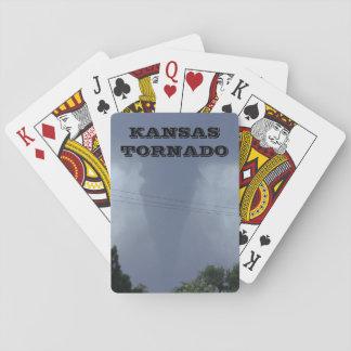 KANSAS TORNADO Playing Cards