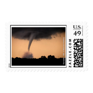 Kansas Tornado! Postage
