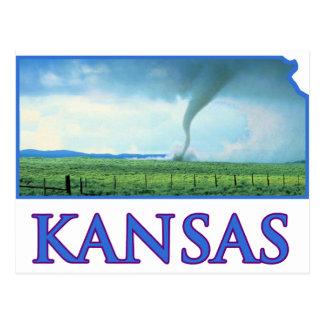Kansas Tornado Postcard