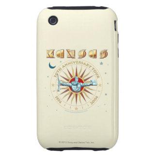 KANSAS - trigésimo aniversario iPhone 3 Tough Fundas