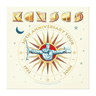 KANSAS - trigésimo aniversario Impresión En Lona