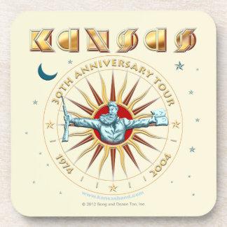 KANSAS - trigésimo aniversario Posavasos